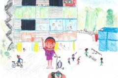 Lucie et Kezya: Ecole du Rocher